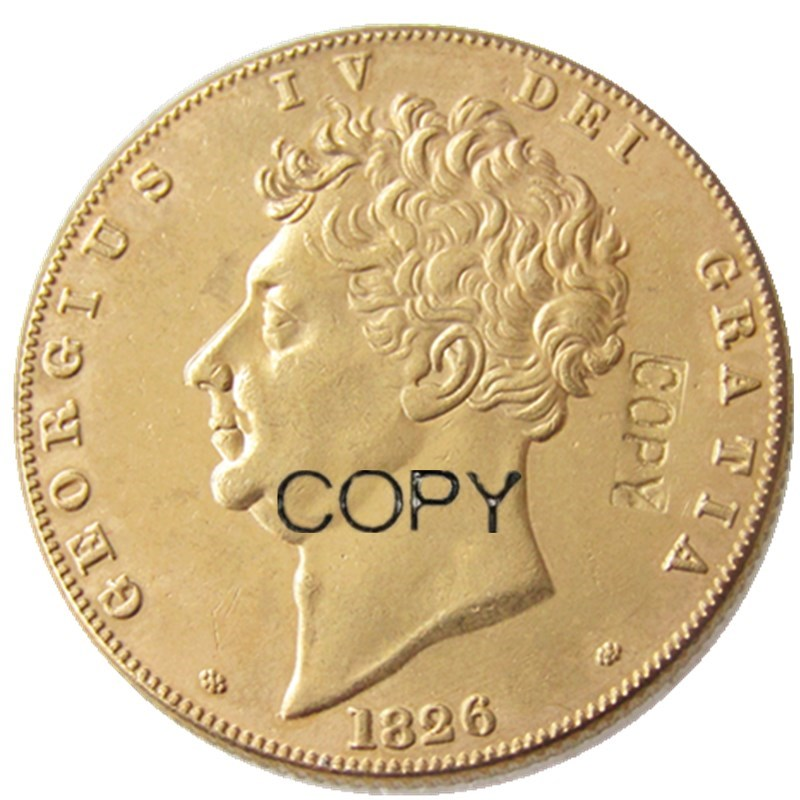 UK 1826 2 Pounds - George IV Gold Plated Coins coin