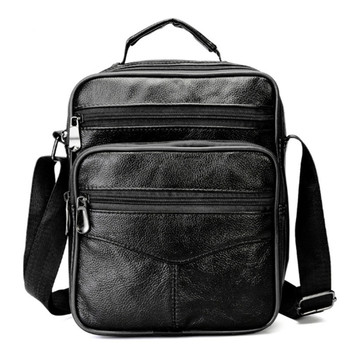 Men Messenger Bags  Fashion Business Cowhide Shoulder Bags For Men Genuine Leather Bags High Capacity Handbags  2020 New new women s bag fashion genuine leather handbags shoulder bags first layer cowhide bags korean casual women messenger bags
