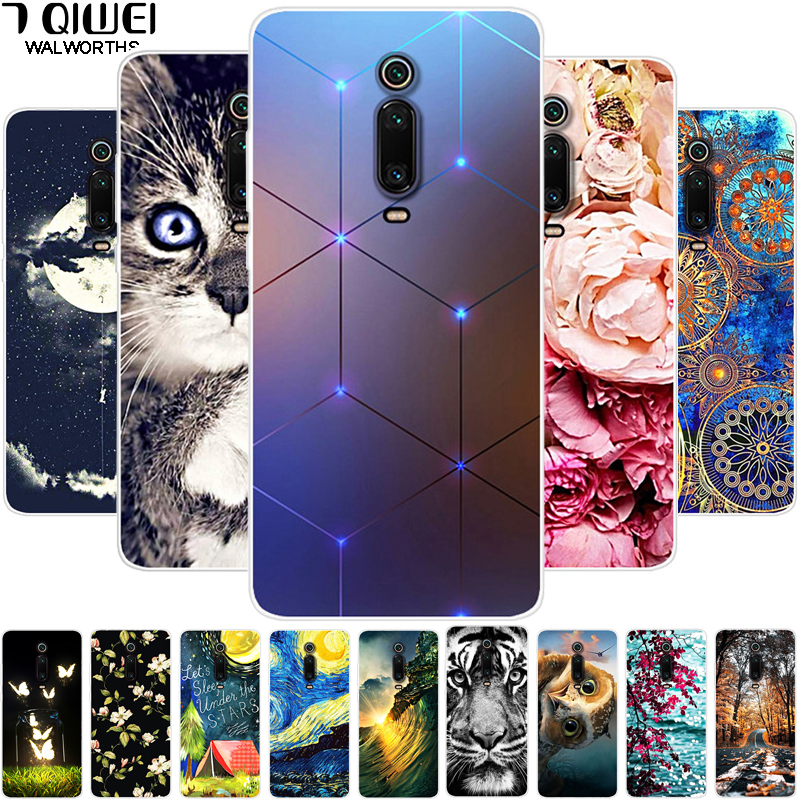 For Xiaomi Mi 9T Case Mi9t Pro Soft TPU Silicone Back Cover For Xiaomi Mi 9T / Mi 9T Pro 9Tpro Phone Cases Slim Mi9t 9 T Coque