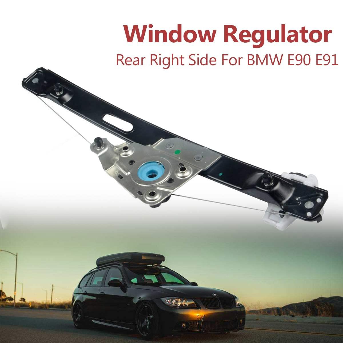 Car Rear Right Power Window Regulator Passenger Side For BMW E90 E91 316 318i 320i 323i 325i 328i 330i M3 51337140590