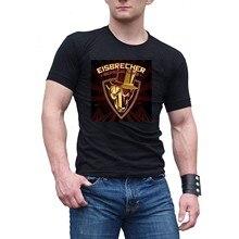 Männer der Eisbrecher Schock Live Schwarz Baumwolle T ShirtTee
