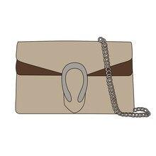 Gg bolsa de luxo bolsas bolsas femininas sacos ombro 2020 nova moda corrente designer alta qualidade marrom carta couro crossbody saco