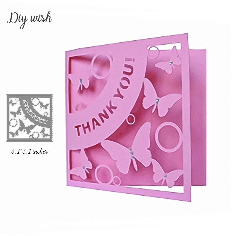 Mini THANK YOU Letter Metal Cutting Die New 2019 For Scrapbooking Craft Dies Cut For DIY Paper Cards Making