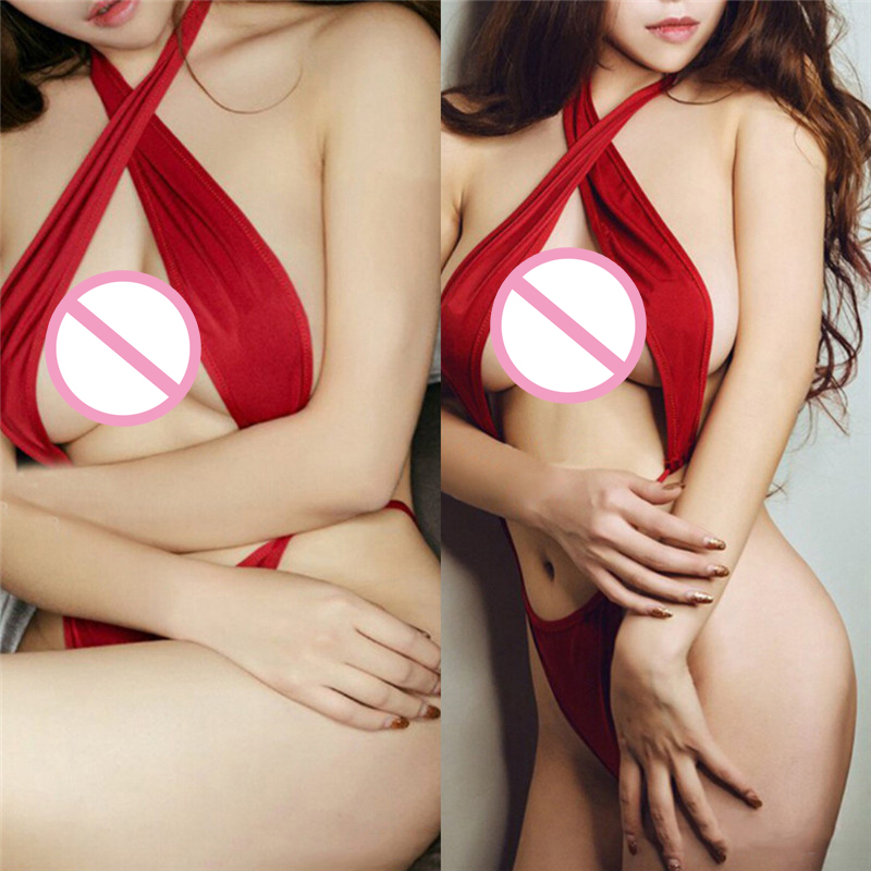 1set Red Christmas Sexy Lingerie for Women Erotic Underwear Baby Doll Pajamas Sleepwear Christmas Gift Fancy Sexy Costume