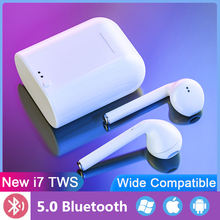 Wireless Earphone Bluetooth i7s Tws 5.0v Earphones Earbuds in ear Headset with Charging Box For Samsung iPhone huawei Xiaomi samload wireless headphone bluetooth earphone i7s tws charging case music earbuds for apple headset iphone se 7 8 xiaomi huawei