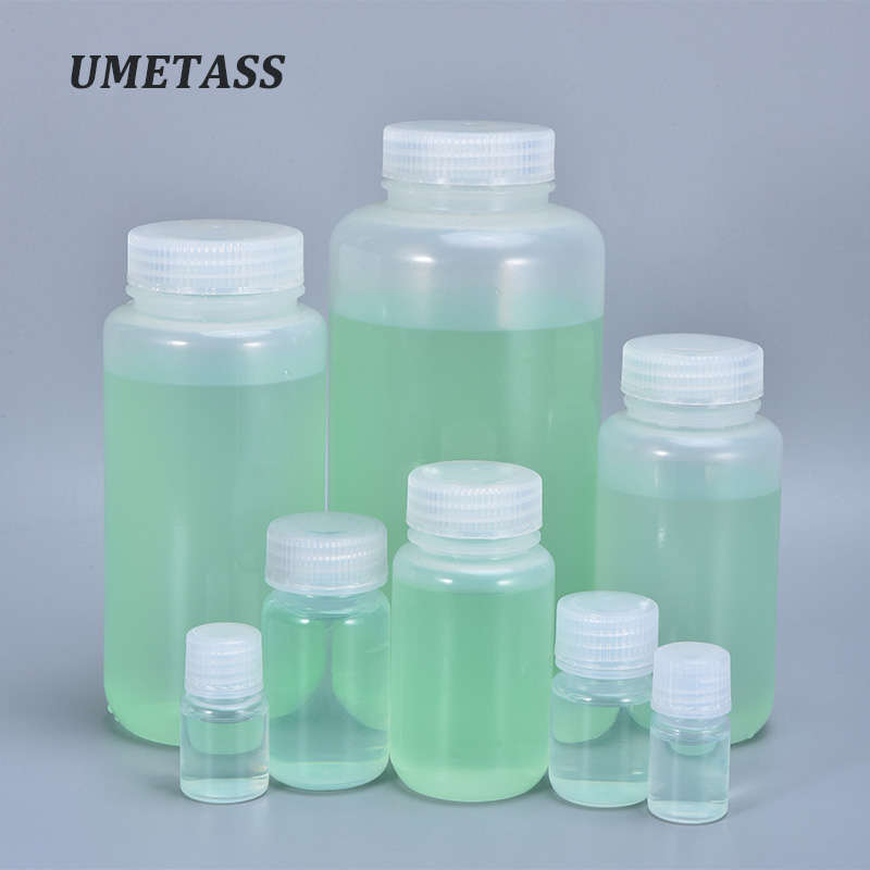 Portable Empty Cosmetic Containers Food Grade PP Refillable Bottles For Lotion Essential Oil 10ML,30ML,60ML,100ML,250ML