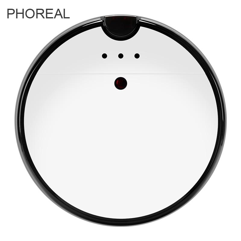 Robot inteligente PhoReal 9R aspirador succión húmedo y seco tanque grande Robot limpiador aspirador para el hogar