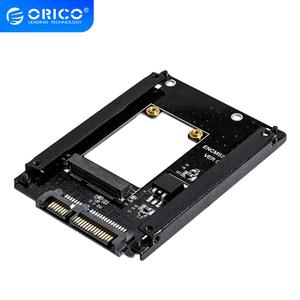 ORICO mSATA to 2.5 Inch SATA 22PIN Adapter SSD Adapter Card Full Height Size Supported mSATA to SATA3 SSD For 25X30 mSATA SSD(China)