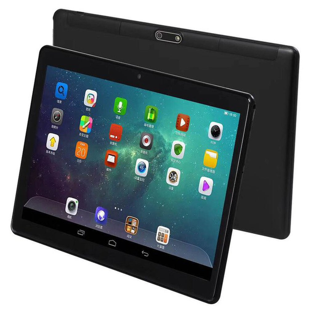 10 Inch Tablet For Android 7.0 Tablets 64G Memory Dual SIM Tablet PC HD 13 Million Pixels Behind Support Multi-language