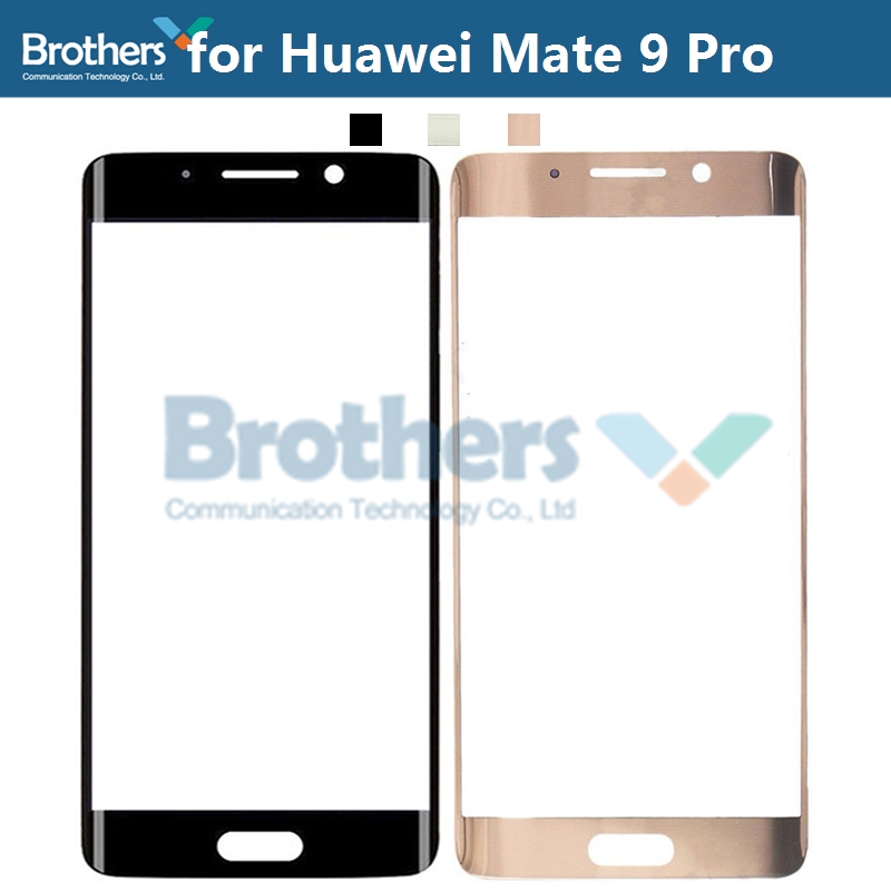 Front Outer Glass Lens For Huawei Mate 9 Pro Mate9Pro Touch Screen Glass For Mate9Pro Front LCD Glass Lens Phone Replacement New