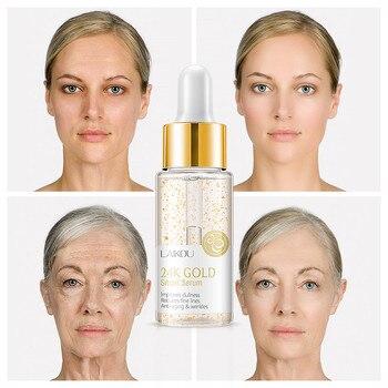 LAIKOU 24K GOLD Facial Care Tools Cream Whitening Moisturizing Snail Serum Snail Essence 24 K Gold D