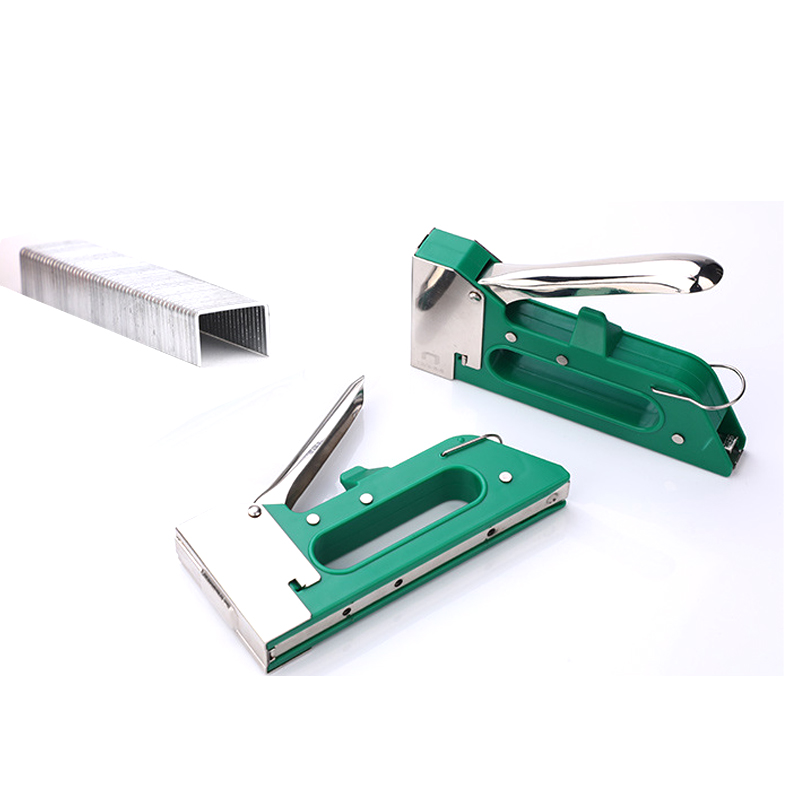 Manual Heavy Duty Hand Nail Gun Furniture Stapler Staples 10x8mm For Framing Staples By Free Woodworking Tacker Tools