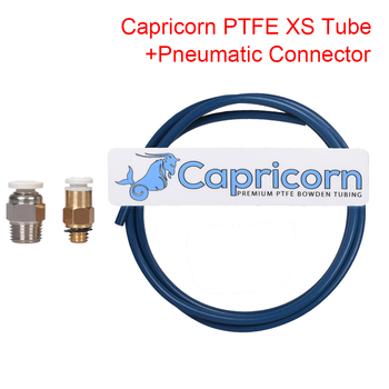 Capricorn Bowden PTFE Tubing XS Series+ Quick Fitting+Straight Pneumatic Connector 1.75MM Filament 3D Printer Parts For Ender 3