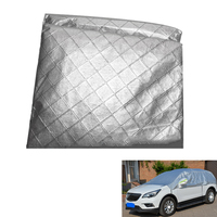 Universal Semi-Automobile Sunshade Car Dust Cover Sun Protection Uv Protection Snow Rainproof and Durable Cover Car Care Cover -