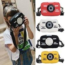 Детская сумка-мессенджер Брезентовая сумка для камеры дикий Кошелек для монет для девочек Сумка через плечо 4 цвета