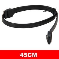 90 SATA Cable,HDD 3 5 SSD 2.5 SATA 3 Cable,SATA Connector 7pin Hard Drive Adapter Cable,Serial ATA SATA3 Hard Disk Cable,90 (5)