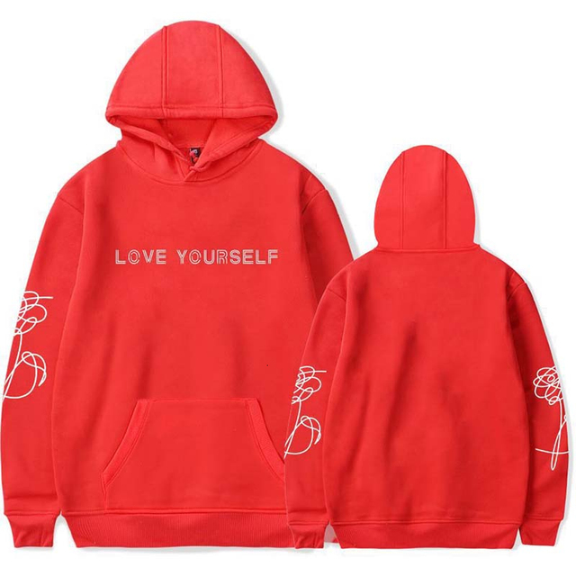 LOVE YOURSELF THEMED HOODIE (12 VARIAN)