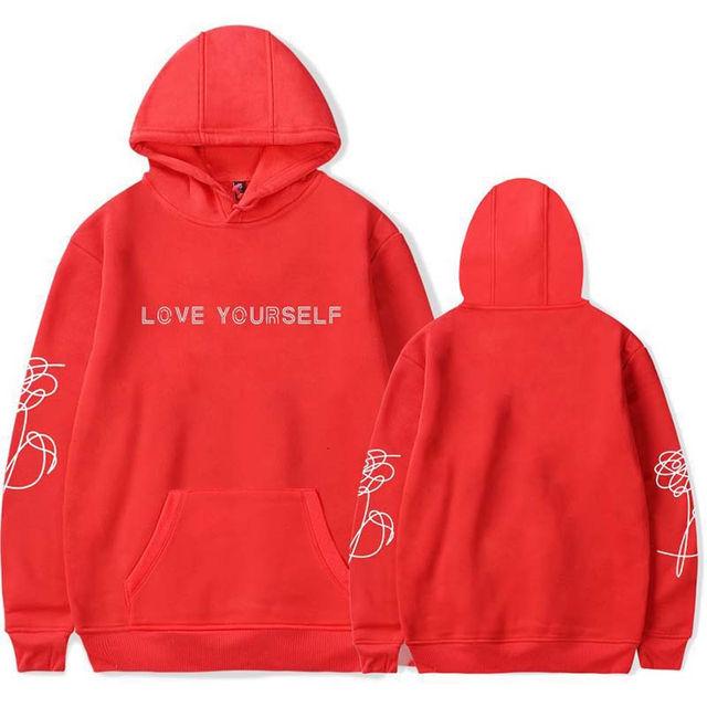 LOVE YOURSELF THEMED HOODIE (12 VARIAN)