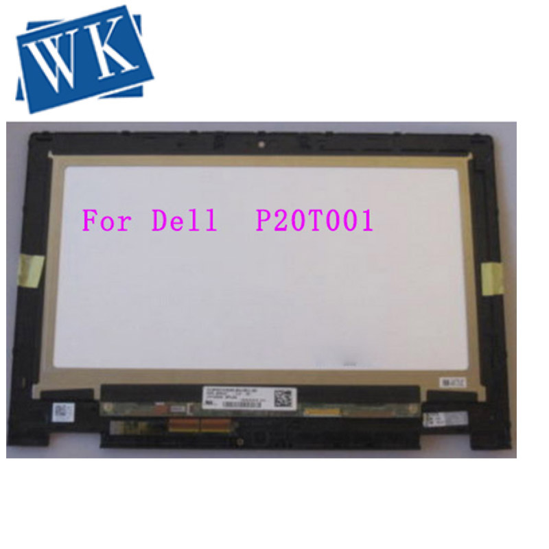 For <font><b>Dell</b></font> <font><b>P20T</b></font> P20T001 11.6 LCD Touch Screen Digitizer Assembly Replacement LED Display Tested Grade A+ image