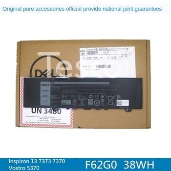 Original Nationwide Warranty DELL Inspiron 13 7373 7370 7380 5370 F62G0 Original Notebook Battery Vostro 13 5370 38wh original battery cable wire line for dell vostro 5370 v5370 inspiron cn 0hy6hw hy6hw 0hy6hw