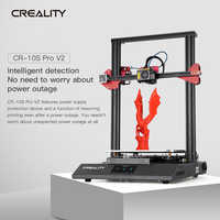 CREALITY 3D Upgrade CR-10S PRO V2 3D Printer BL Touch Leveling With Resume Print Filament Sensor