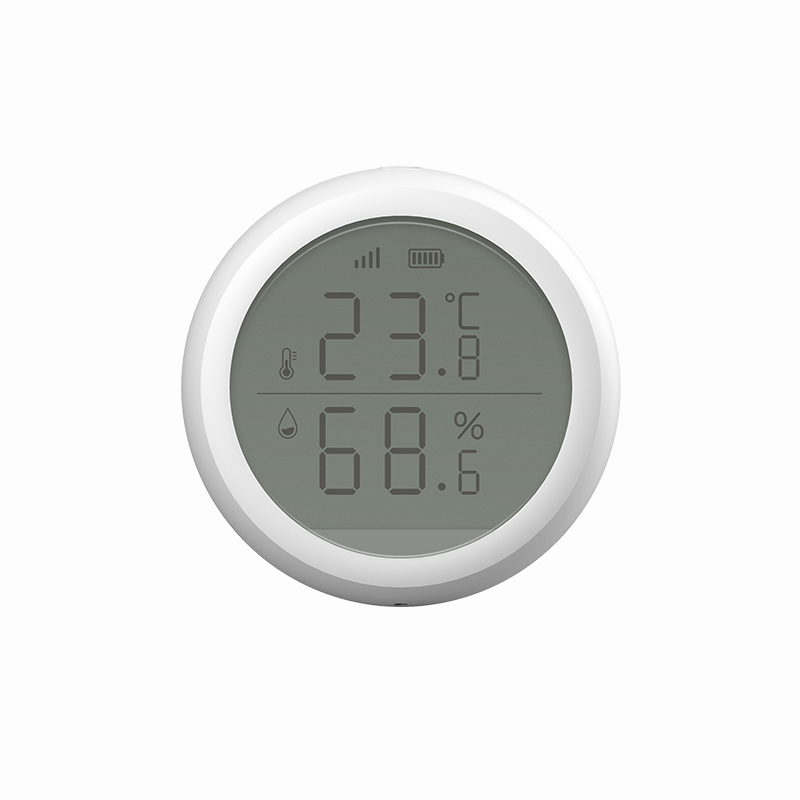 New TuYa ZigBee Temperature And Humidity Sensor With LCD Digital Screen Display Thermometer Hygrometer Gauge Working Smart Life
