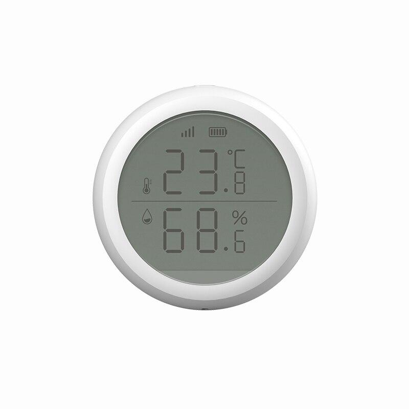 Датчик температуры и влажности TuYa ZigBee, цифровой ЖК дисплей, термометр, гигрометр, рабочая смарт жизнь|Модули для умного дома|   | АлиЭкспресс