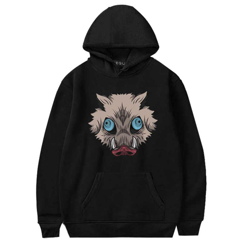 Animen Dämon Slayer Hoodies Sweatshirts Luxus Lange Hülse Mit Kapuze Pullover Tops