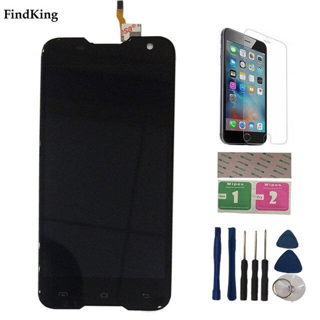 5.0 pouces écran LCD Mobile pour Blackview BV5000 écran LCD + écran tactile 1280X720 outils dassemblage Film protecteur 3M colle