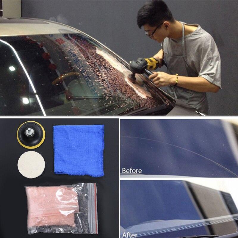 5pcs Buffing Pad Set Car Windscreen Windows Scratch Remover Glass Polishing Equipment Practical