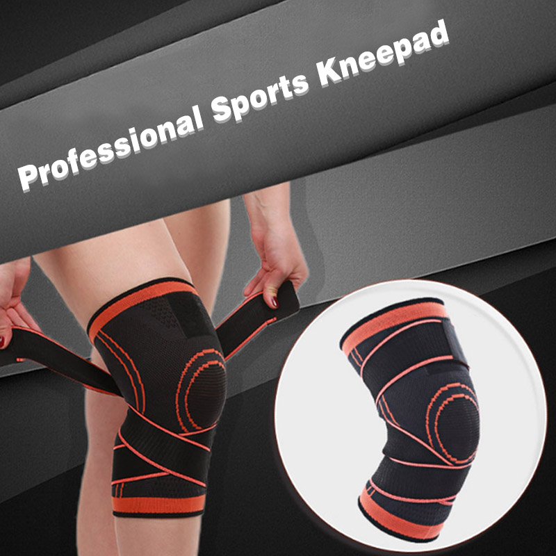 Hot 3D Weaving Knee Brace Pad Support Protect Compression Breathable Running Support 1pc