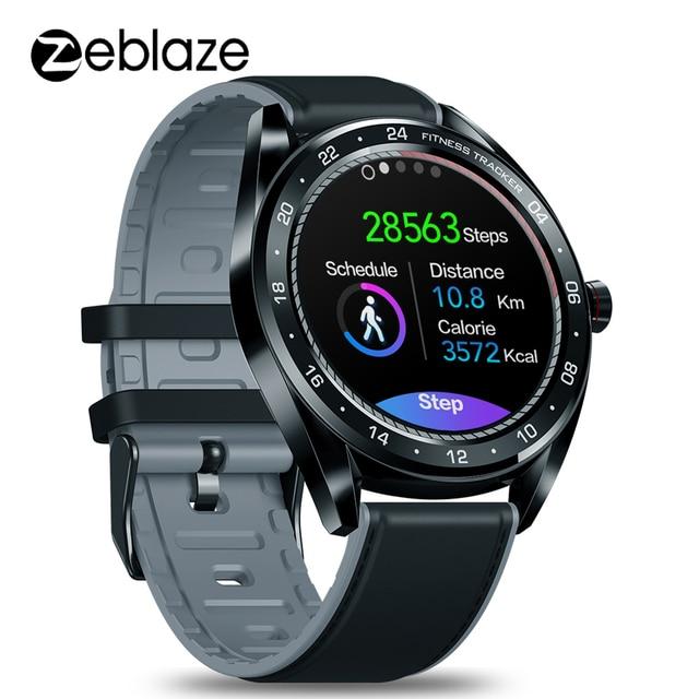 """Zeblaze reloj inteligente NEO para hombre, dispositivo de pulsera con pantalla IPS de 1,3 """", control del ritmo cardíaco y de la presión sanguínea, cronómetro y cámara remota"""