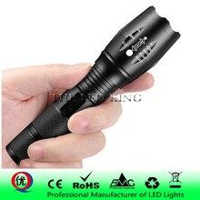 Мощный G700 фонарик Cree XML T6 U3 светодиодный алюминиевый водонепроницаемый зум кемпинг фонарь тактический фонарь AAA 18650 аккумуляторная батарея