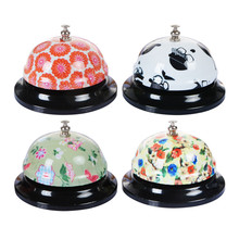 4Pcs Metal Ringer Desk Kitchen Hotel Counter Christmas Bell Dog Cat Ringer Trainer Restaurant Bar Ringer Call Bell Service Ring