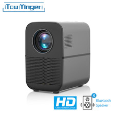 TouYinger HD LED projektor T7 Bluetooth, 1280x720 unterstützung Full HD video beamer für Heimkino, 3500 lumen film-Media-Player(China)