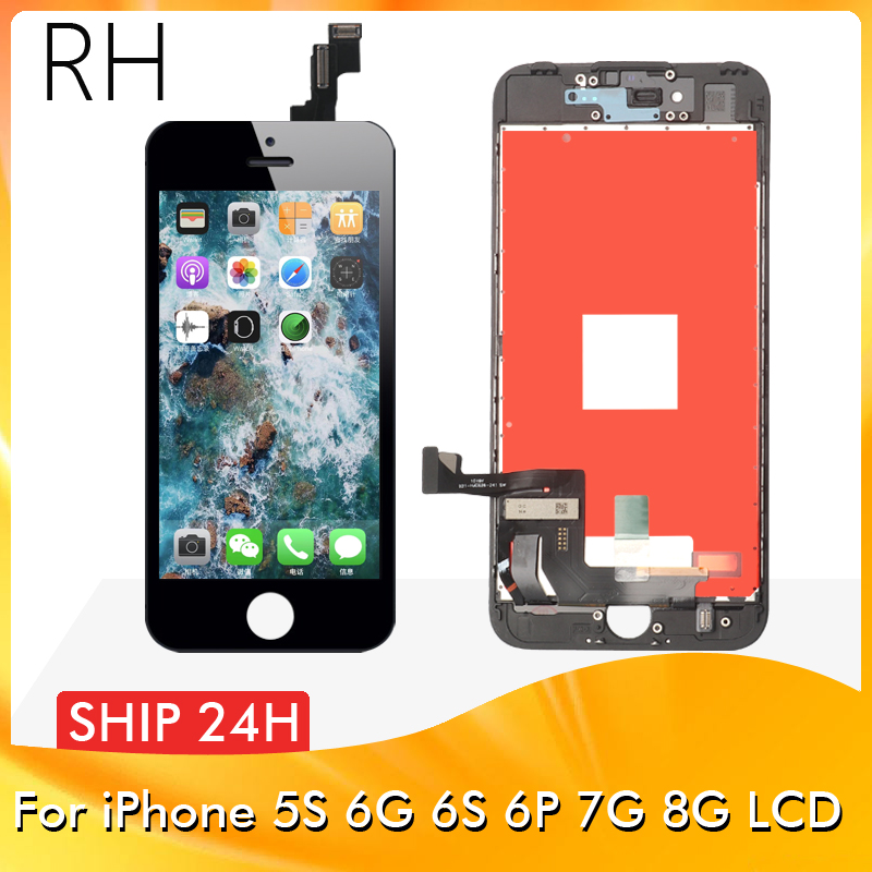 Digitizer-Assembly Display Touch-Screen No-Dead-Pixel Grade 6plus iPhone 6s for 7 8 LCD title=