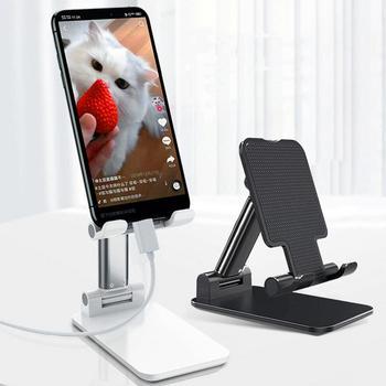 2020 nuevo y elegante soporte para tableta de teléfono móvil soporte de escritorio plegable telescópico para xiaomi huiwei iPhone Samsung