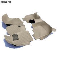 Esteiras do assoalho carro caso para renault scenic fluence latitud koleos megane cc talismã 5d estilo do carro tapete forro