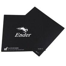 Аксессуары для 3d принтера 235x235 мм Горячая кровать наклейка для платформы адаптирована для Ender-2 Ender-3