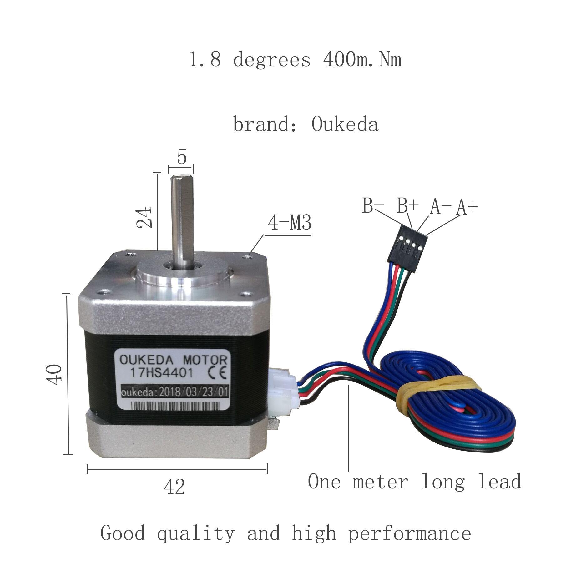 NEMA17 Stepper Motor For 3D Printer 17HS4401