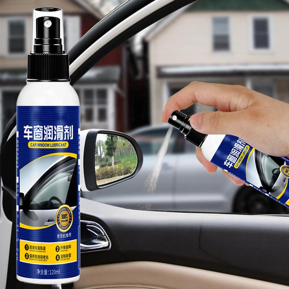 120ml Door Rubber Strip Car Softening Maintenance Window Lubricant Eliminate Noise Sunroof Practical Rustproof Cleaning Dresser