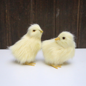 Image 5 - Realistische Harige Baby Chick Levensecht Geluid Kip Pluche Fur Animal Lente Pasen Voor Gift
