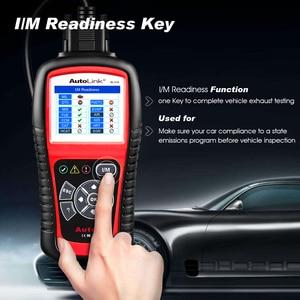 Image 2 - Autel AutoLink AL519 automatyczne narzędzie diagnostyczne skaner kod błędu samochodu czytnik OBD2 CAN Code czytnik Upgrade wersja MS509