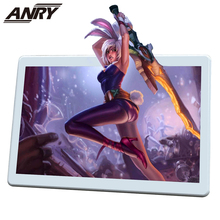 ANRY 4G Tablet 10 inch Phone Call Game Phablet MTK6737 Touch Screen Dual Sim 4G Tablet Phone Pc Android 8.1 Wifi GPS Bluetooth anry 10 1 inch 8 core 4g 64g android tablet pc sim dual camera 8 0mp ips mtk6797 4g wifi call phone tablet wifi gps bluetooth