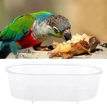 Мульти функциональный Пластик клетка для домашних птиц баня