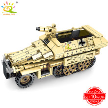 355pcs Military Armored Truck Building Blocks legoing Army Car vehicle soldier figures weapon model Bricks kit Toys for children(China)