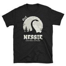 Loch Ness Monster Hemd Nessie Hemd Kurzarm Unisex T Hemd