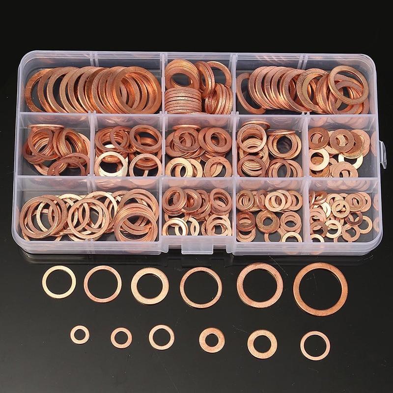 100/200/280 шт., медные кольца для пробки