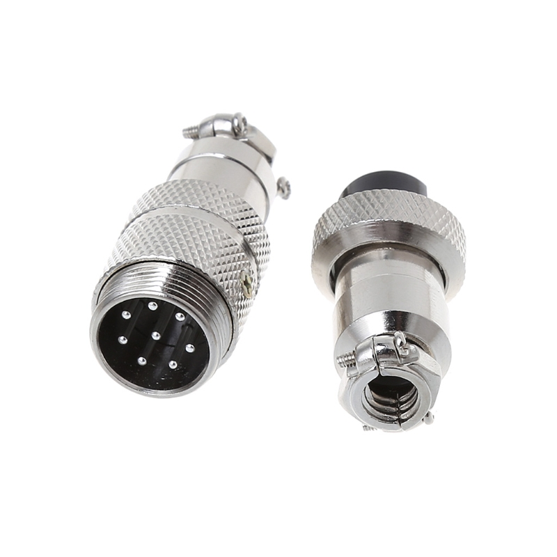 <font><b>Gx16</b></font> Butting Aviation Male Connector Female Plug 2/3/4/<font><b>5</b></font>/6/7/8 <font><b>Pin</b></font> 35ED image