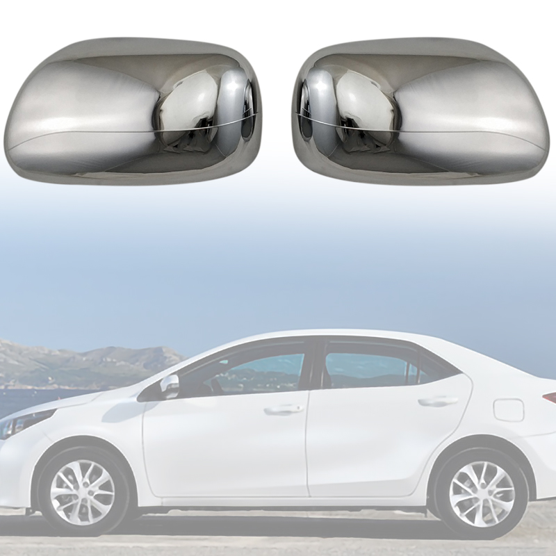 Car Side Door Rear View Mirror Cover for Toyota Corolla 2001 VIOS 2003 PROBOX SUCCEED(China)